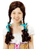 Wizard of Oz Child Dorothy Pigtails Wig