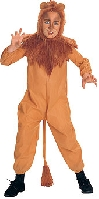 Wizard of Oz Cowardly Lion Child Costume