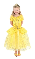Yellow Princess Dress Belle Child Costume