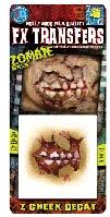 Zombie FX Cheek Decay 3D transfer